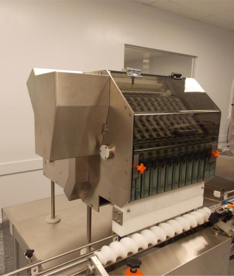 SDF-200 Canister Desiccant Inserter